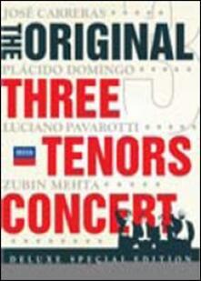 The Original Three Tenors Concert (2 DVD) - DVD di Placido Domingo,Luciano Pavarotti,José Carreras,Zubin Mehta,Orchestra del Maggio Musicale Fiorentino