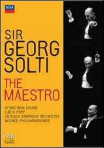 Georg Solti. Sir Georg Solti. The Maestro (4 DVD) - DVD