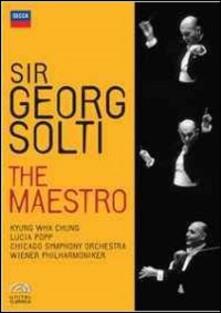Georg Solti. Sir Georg Solti. The Maestro (4 DVD) - DVD