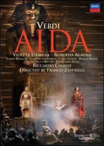 Giuseppe Verdi. Aida (2 DVD) di Franco Zeffirelli - DVD