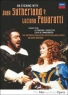 Luciano Pavarotti. An Evening with Luciano Pavarotti & Joan Sutherland - DVD