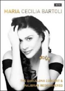 Cecilia Bartoli. Maria. The Barcelona Concert & Malibran Rediscovered (2 DVD) - DVD