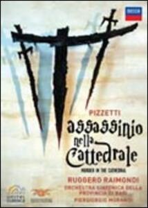 Ildebrando Pizzetti. Assassinio nella cattedrale - DVD