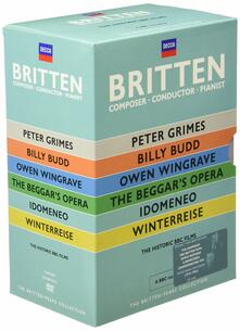 Britten. Conductor, Composer & Pianist (7 DVD)