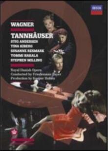 Richard Wagner. Tannhäuser (2 DVD) di Kasper Bech Holter - DVD
