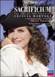 Cecilia Bartoli. Sacrificium (DVD) - DVD di Cecilia Bartoli