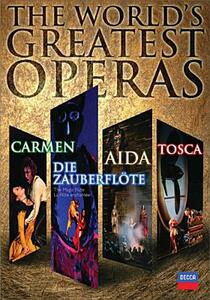 The World-s Greatest Operas (6 DVD) di Francesca Zambello,Franco Zeffirelli