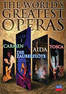 The World-s Greatest Operas (6 DVD) di Francesca Zambello,Franco Zeffirelli