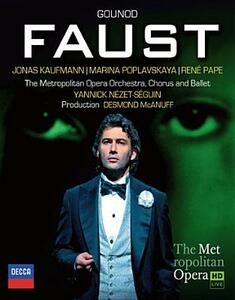Charles Gounod. Faust di Des McAnuff - Blu-ray