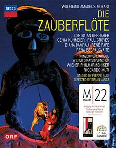 Wolfgang Amadeus Mozart. Il flauto magico. Die Zauberflote - Blu-ray
