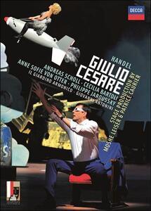 Georg Friedrich Handel. Giulio Cesare di Moshe Leiser,Patrice Caurier - Blu-ray