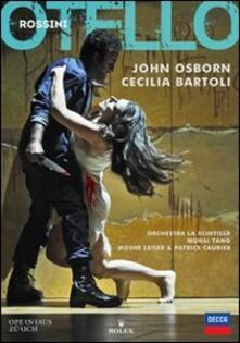 Gioacchino Rossini. Otello (DVD) - DVD di Cecilia Bartoli,John Osborn,Gioachino Rossini