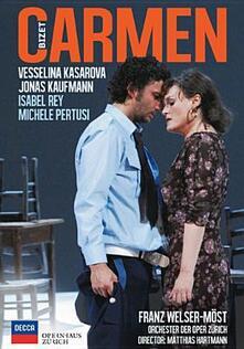 Georges Bizet. Carmen di Matthias Hartmann - DVD