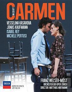 Georges Bizet. Carmen di Matthias Hartmann - Blu-ray
