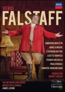 Giuseppe Verdi. Falstaff - DVD