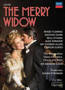 Franz Lehar. The Merry Widow. La Vedova Allegra di Susan Stroman - Blu-ray