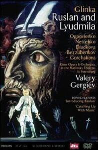 Michail Glinka. Ruslan e Ljudmilla (2 DVD) di Lofti Mansouri - DVD