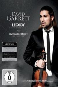 David Garrett. Legacy - DVD