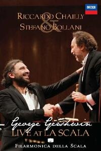 Chailly & Bollani. George Gershwin. Live at La Scala - DVD