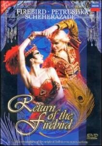 Return Of The Firebird. Igor Stravinsky, Nicolai Rimsky-Korsakov - DVD