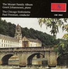Mozart Family Album - CD Audio di Wolfgang Amadeus Mozart