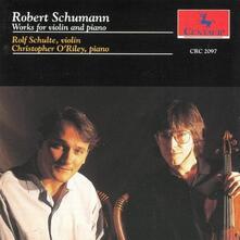 Works For Violin & Piano - CD Audio di Robert Schumann