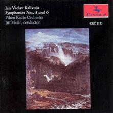 Sinfonie n.5, n.6 - CD Audio di Joan Wenzel Kalliwoda