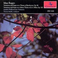 Variations & Fugue On Themes - CD Audio di Max Reger
