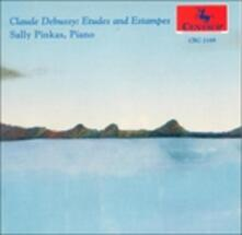 Studi and Estampes - CD Audio di Sally Pinkas