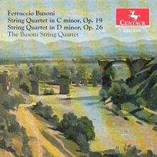 String Quartets Nos. 1 & 2 - CD Audio di Ferruccio Busoni
