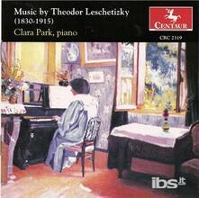 Piano Music - CD Audio di Theodor Leschetizky