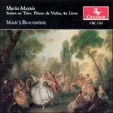 Suites En Trio. Pieces de - CD Audio di Marin Marais