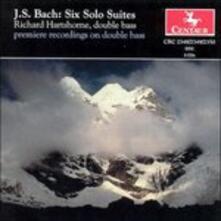 Six Solo Suites - CD Audio di Johann Sebastian Bach