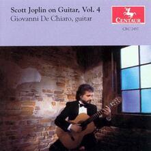 On Guitar vol.4 - CD Audio di Scott Joplin