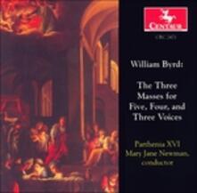 Three Masses for 5, 4, 3 vo - CD Audio di William Byrd