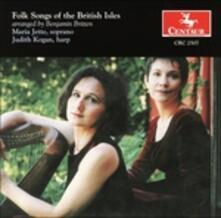 Folk Songs of the British - CD Audio di Benjamin Britten