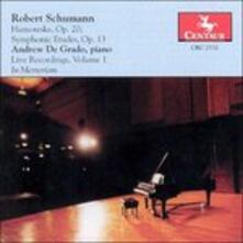 Humoreske op.20 - CD Audio di Robert Schumann