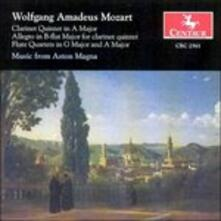 Clarinet Quintet - Flute qu - CD Audio di Wolfgang Amadeus Mozart