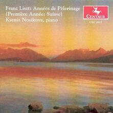 Anni di Pellegrinaggio vol.1 - CD Audio di Franz Liszt