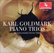 Piano Trios Opp. 4 & 33 - CD Audio di Karl Goldmark