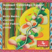 Clarinet Quintet In F Sharp Mi - CD Audio di Samuel Coleridge-Taylor