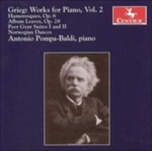 Musica per Pianoforte - CD Audio di Edvard Grieg