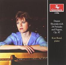4 Preludes & Fugues 87 - CD Audio di Dmitri Shostakovich