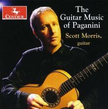 Musica per Chitarra - CD Audio di Niccolò Paganini