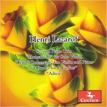 Second Pno Trio - CD Audio di Christiane Edinger