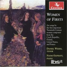 Women of Firsts - CD Audio