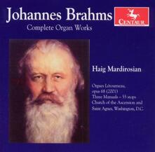 Musica per Organo - CD Audio di Johannes Brahms