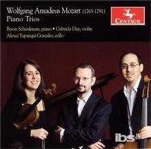 Trii con Pianoforte - CD Audio di Wolfgang Amadeus Mozart