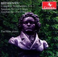 Sinfonie Complete vol.2 (Trascrizioni per pianoforte) - CD Audio di Ludwig van Beethoven,Paul Kim