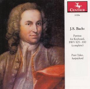 Partite per Strumento a Tastiera - CD Audio di Johann Sebastian Bach